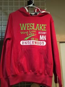Red Weslake Hoodie